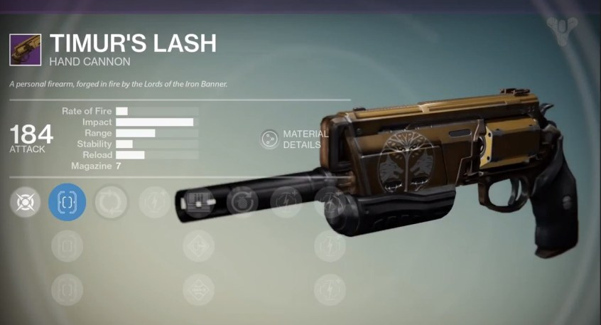Destiny Multiplayer Video - Iron Banner Rewards - 1