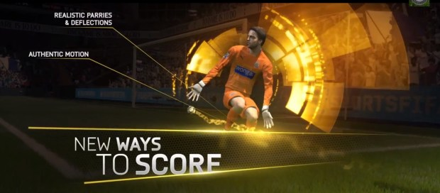 You'll discover new ways to score in FIFA 15 that looks incredible.