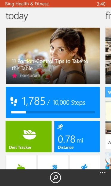 How to Use Bing Health to Track Your Steps with the Lumia 635 (16)