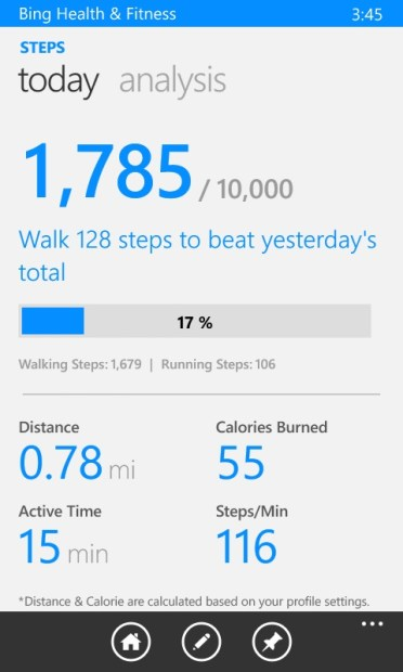 How to Use Bing Health to Track Your Steps with the Lumia 635 (19)