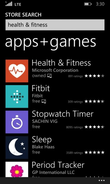 How to Use Bing Health to Track Your Steps with the Lumia 635 (5)
