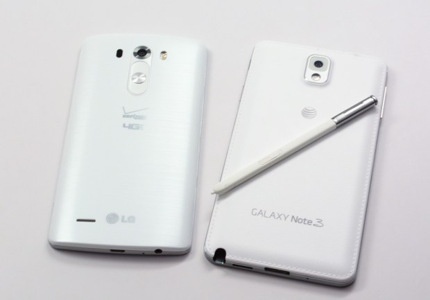 Read our LG G3 vs Galaxy Note 3 buyer's guide to know how these two phones compare.