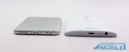 LG G3 vs iPhone 6 - Design 2