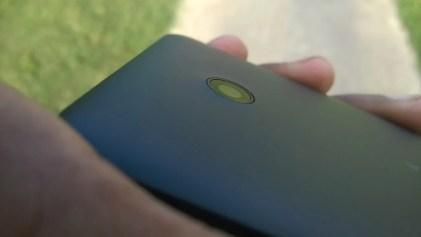 The Lumia 635's rear-facing camera.