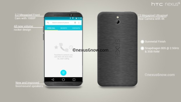 This new Nexus 6 concept shows off a metal design.