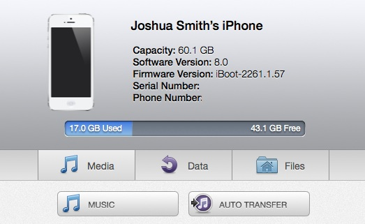 how to move music from iphone to mac