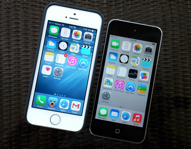 I'm ready for iOS 8 that fits a big screen, not just a blown up version of what the iPhone 5s runs.
