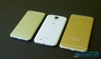 iPhone 6 vs Galaxy S4 Comparison