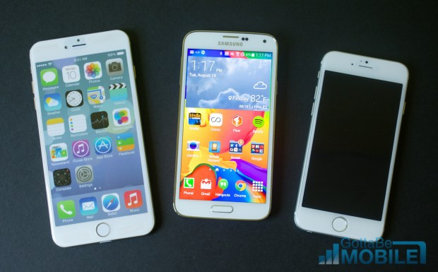 Watch our iPhone 6 vs Galaxy S5 video to learn how these devices compare.