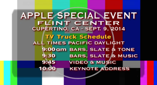 iPhone 6 live stream problems are plaguing the event.