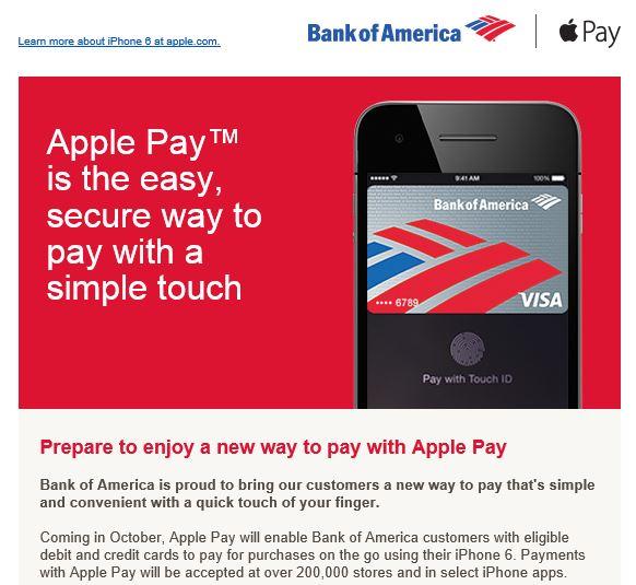 Apply Pay BoA
