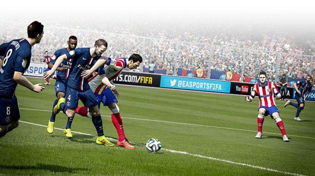 Better player physics are just one part of our FIFA 15 review.