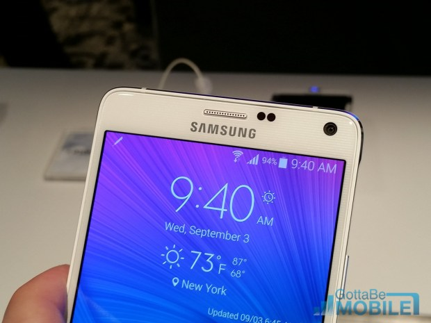 Galaxy Note 4 Features - Sensors
