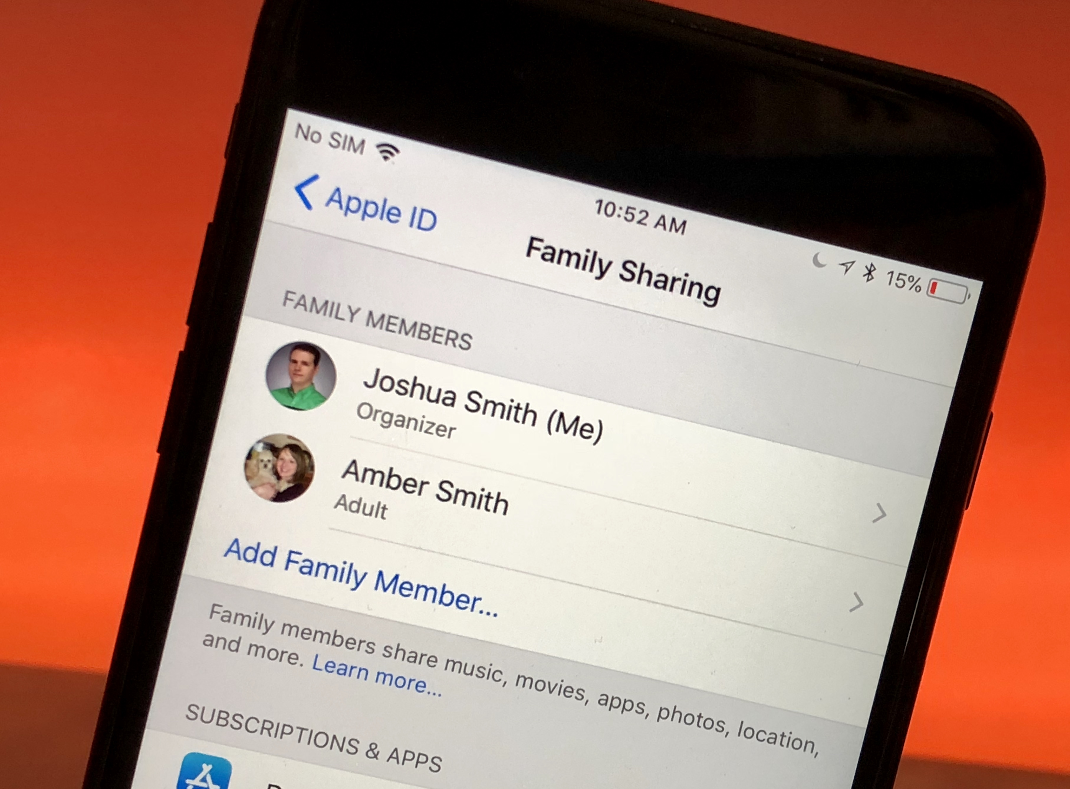 How to Set Up Family Sharing to Share Apps, Music, Storage