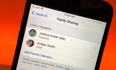 How to setup Family Sharing on iPhone and iPad.