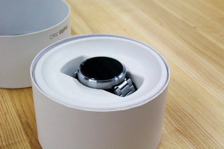 The Moto 360 stainless release date comes later this year.