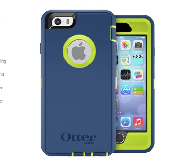 The OtterBox iPhone 6 Defender case is their top of the line case.