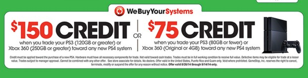 This is one PS4 trade-in deal Xbox 360 and PS3 owners can't pass up.