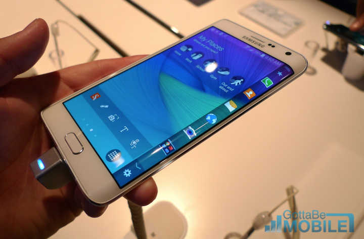 Galaxy Note Edge Display