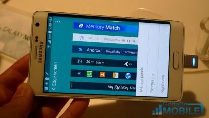 Samsung Galaxy Note Edge Photos Side Edge