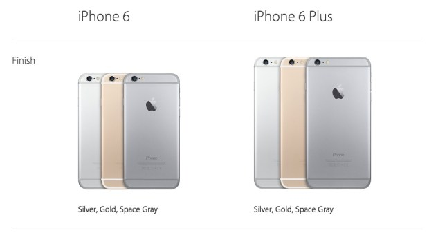 iphone 6 color options