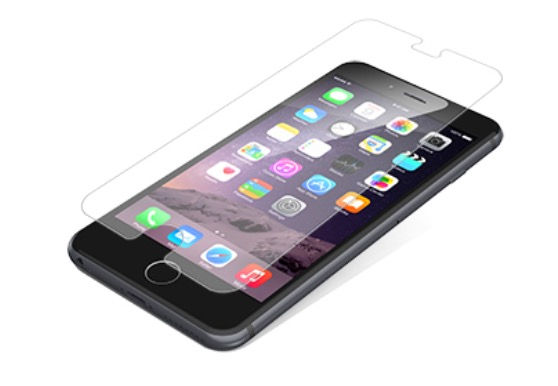 zagg invisibleshield glass for iphone 6 plus