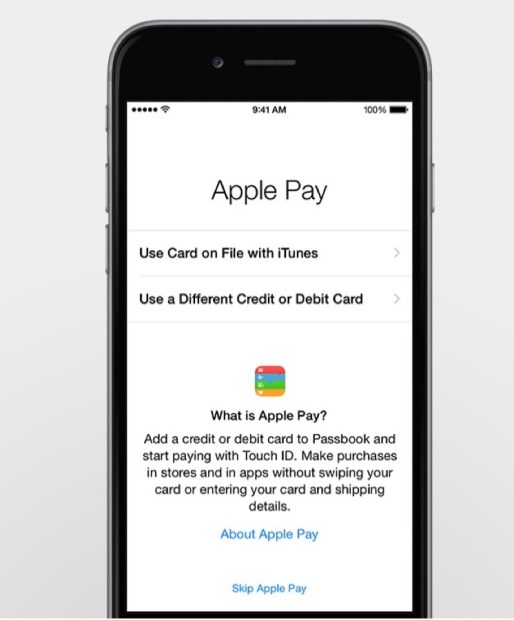 Apple Pay App Enrolls Credit Cards, Uses them for Online and Retail Purchases