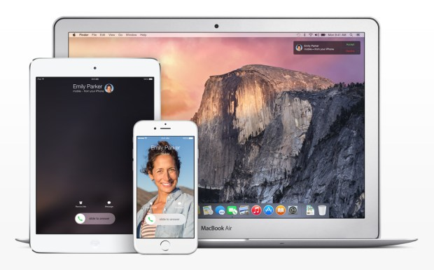 Continuity, one of iOS 8's most exciting features, will skip some devices.