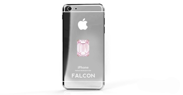 At nearly $50 million you get the pleasure of a pink diamond iPhone 6.