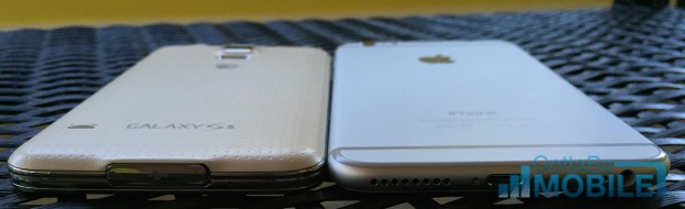 Compare the Galaxy S5 vs iPhone 6 Plus specs before you buy.