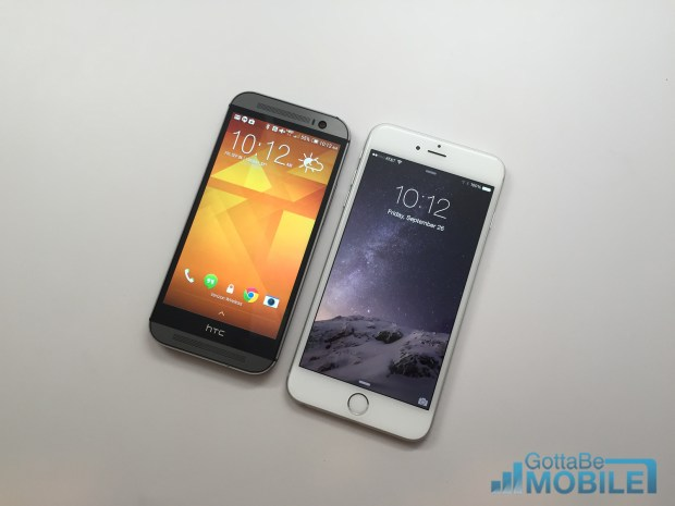 Learn what buyers need to know about the iPhone 6 Plus and HTC One M8.