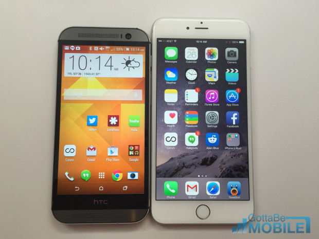 htc one m8 vs iphone 6 iphone 6 plus vs htc one m8 what buyers need to 6974