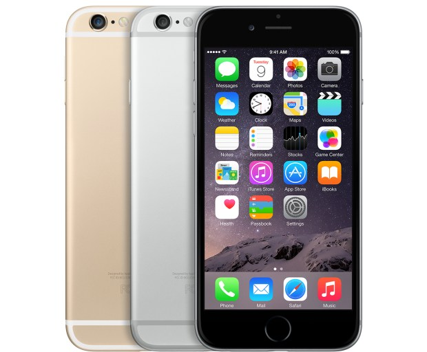iPhone 6 colors