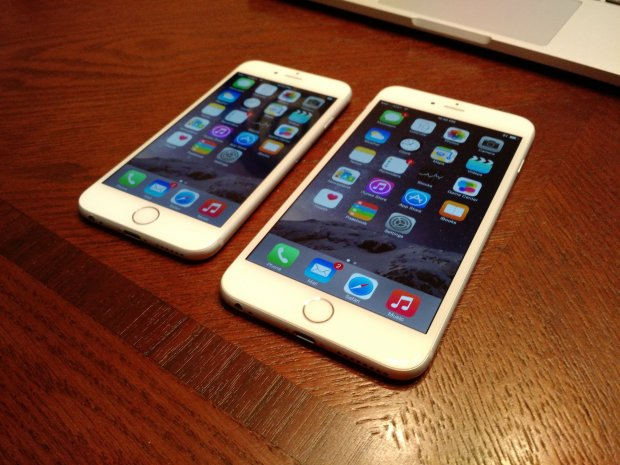 The iPhone 6 is the right size for most buyers.