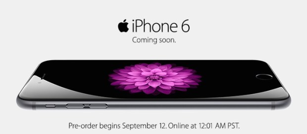 Sprint, AT&T and Verizon iPhone 6 pre-order details arrive.
