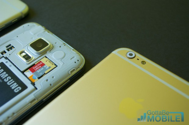 See how iPhone 6 specs compare to the Galaxy S5 specs.