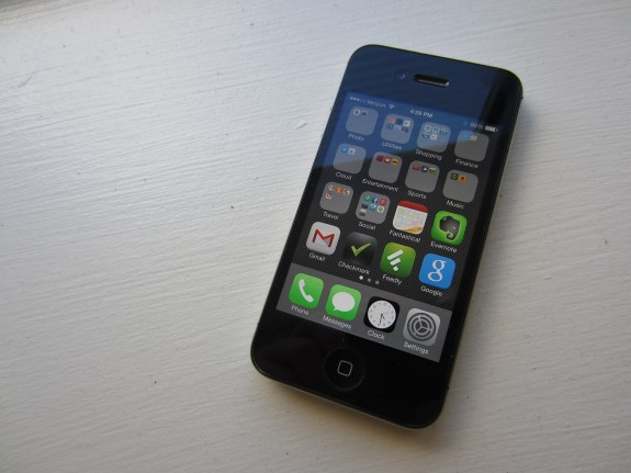 The iPhone 6 features a much larger screen.