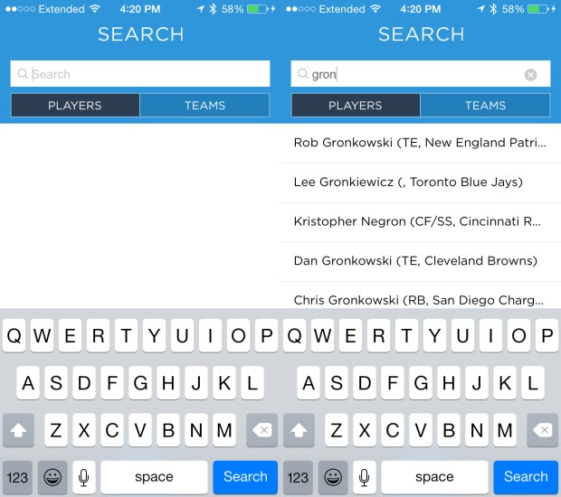 Search and find or ask questions about your starters.