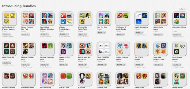 iTunes App Bundles