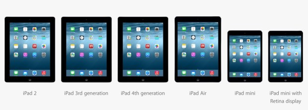 The iOS 8 update comes to all iOS 7 iPads.