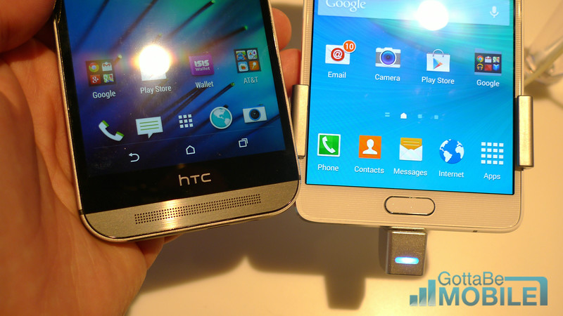 Galaxy Note 4 vs HTC One M8: What You Need to Know