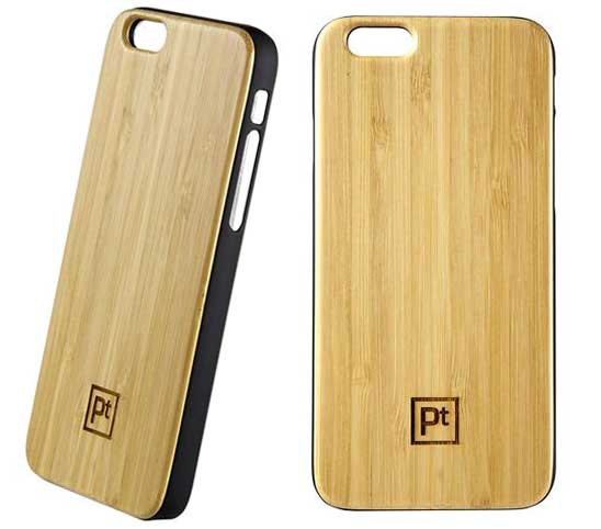 Platinum Bambook Real Wood Case for iPhone 6 Plus