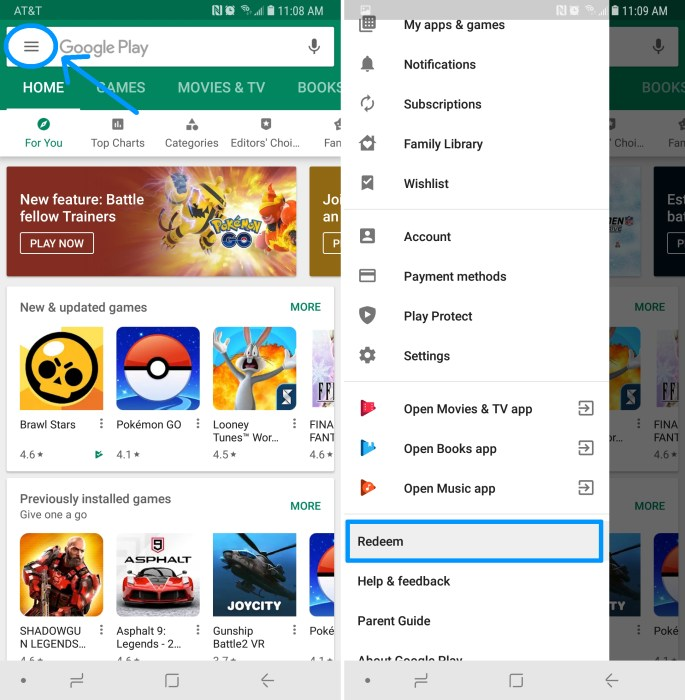 How To Redeem Google Play Gift Cards
