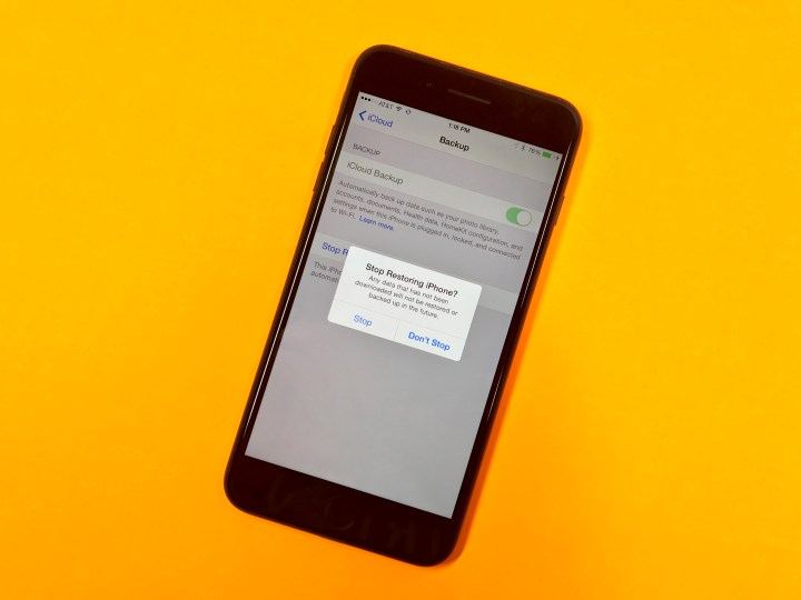 How to fix a stuck iCloud restore on iPhone or iPad.