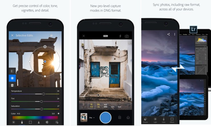 Adobe Photo Editing Apps