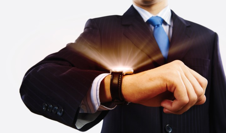 Learn the right way to use the Apple Watch at work.