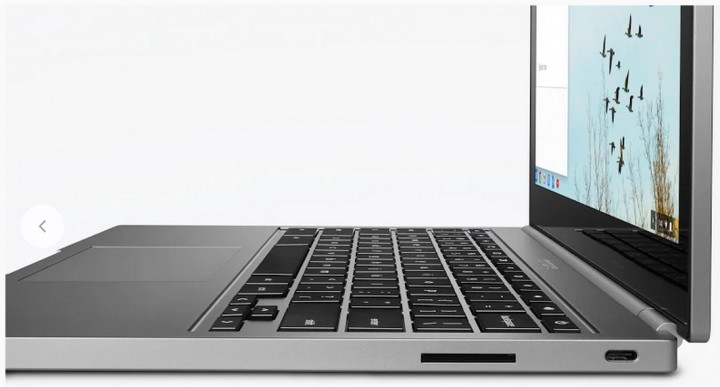Chromebook Pixel right side ports