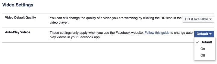 Take control of Facebook videos.