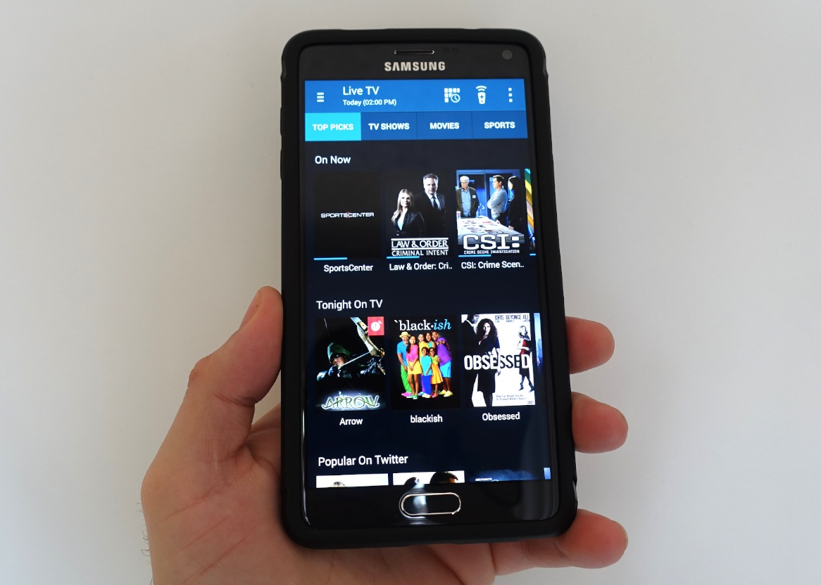 How to Use the Galaxy Note 4 as a Remote Control