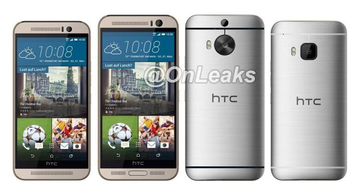 Concept Render of what is reportedly the HTC One M9+